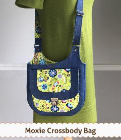 The Moxie Crossbody Bag by Betz White Designs