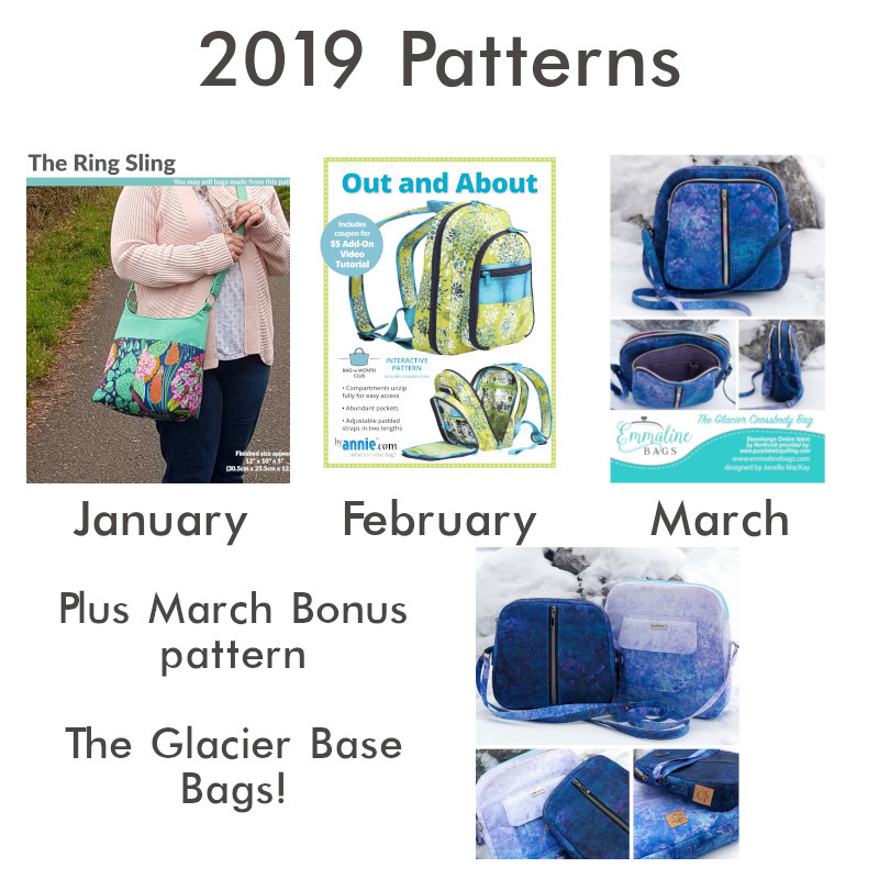 January - March 2019 Patterns