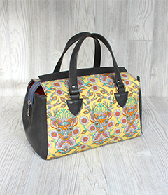 Louise Barrel Bag by Swoon Patterns