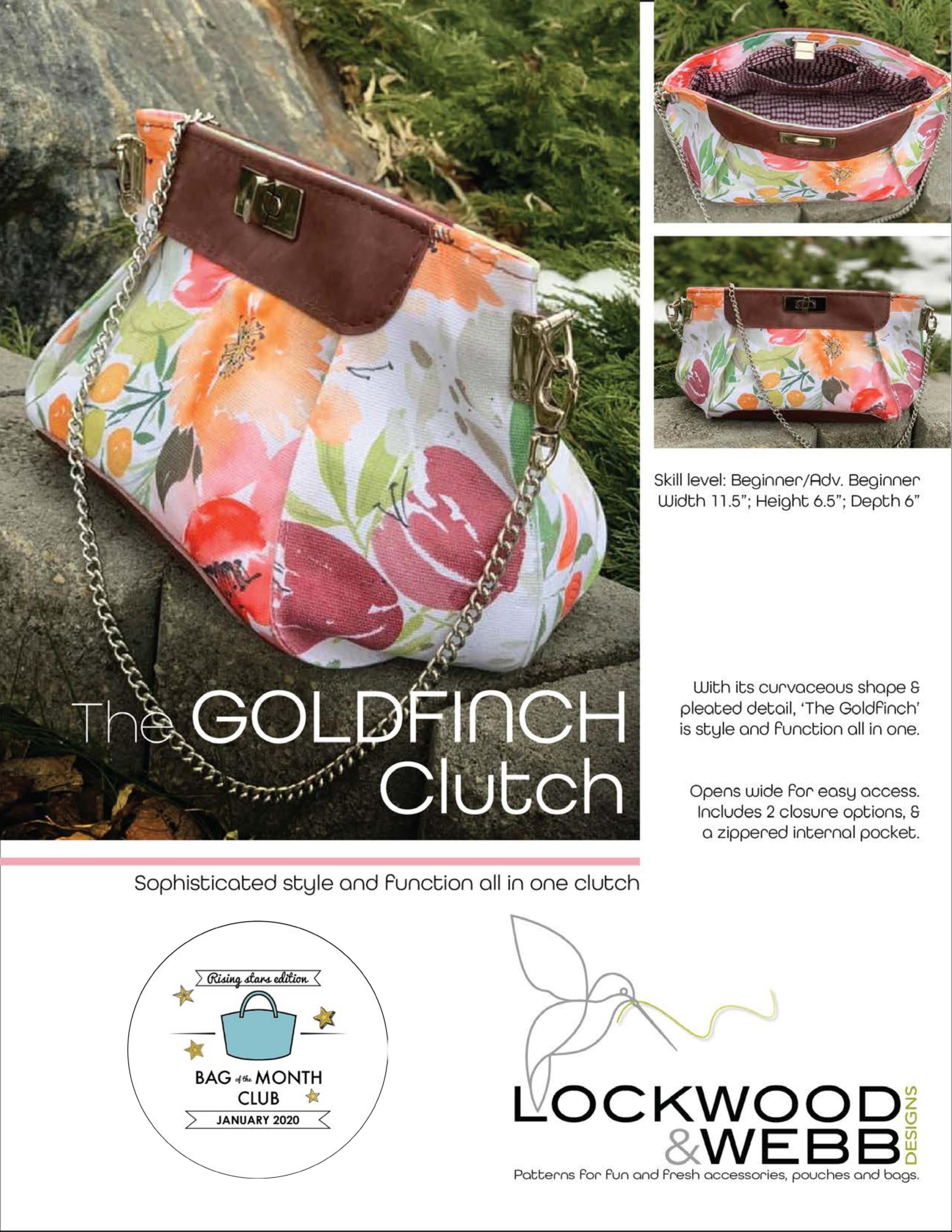 The Goldfinch Clutch by Lockwood & Webb