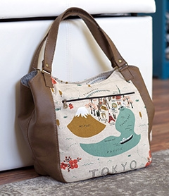 Celine Zip Top Tote by Swoon Patterns